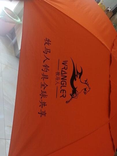 牧马人 钓鱼伞 1.8米2米2.2米万向双层超轻防雨防紫外线钓伞遮阳伞渔具伞 精装万向双层三档定位伞自动 晒单图