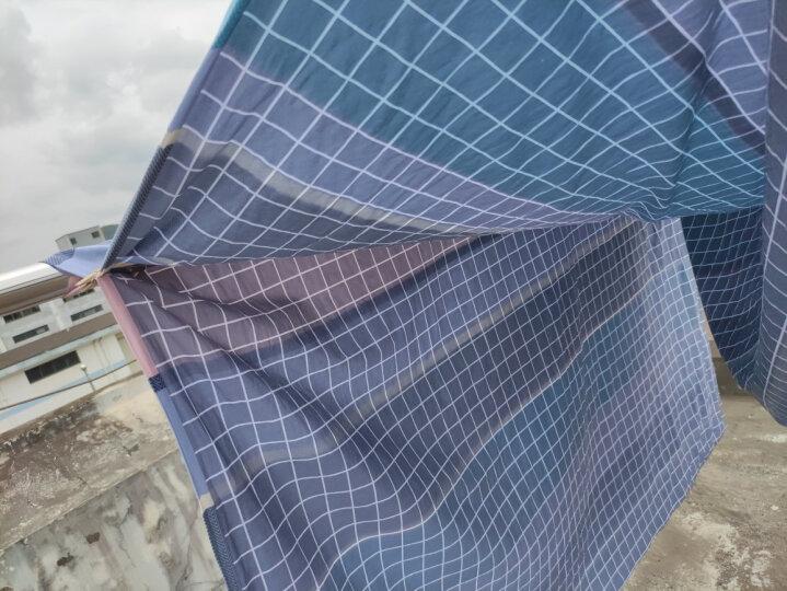 南极人NanJiren 全棉被套 纯棉单人学生宿舍床上用品全棉被罩单件 150*200cm 晒单图