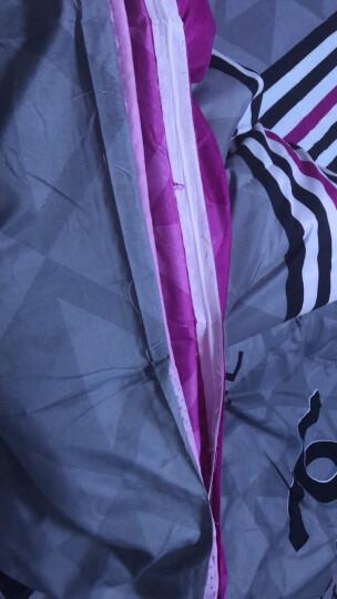 梦喜路家纺 卡通四件套1.5m床上用品个性床品不褪色起球床单被套学生单人床套件 漂流瓶 1.5床四件套【适用被子150*200】 晒单图