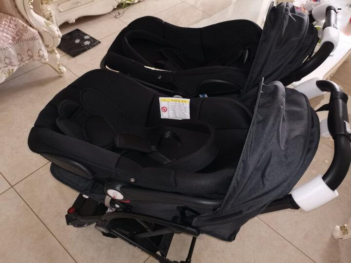 PRIDE PANDA 双胞胎婴儿推车可坐可躺轻便折叠便携可拆分伞车小孩新生儿二胎宝宝儿童双人手推车 撞色樱花粉 轻便折叠高景观 晒单图