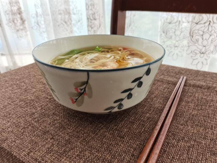 瓷魂 2只装7寸浅碗北欧餐具陶瓷碗泡面碗牛肉粉汤碗方便面碗创意大米饭碗喝粥碗水果沙拉碗家用 格拉 晒单图