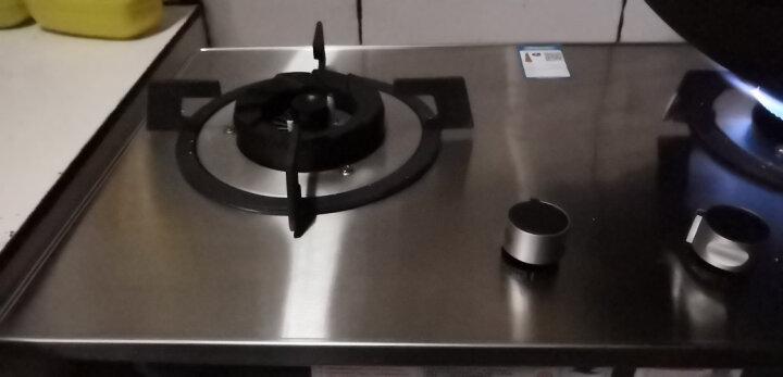 Beves4.5KW燃气灶嵌入式煤气灶台嵌两用大火力双灶炉具天然气灶保洁炉BZ01 不锈钢加厚面板-升级款 天然气 晒单图