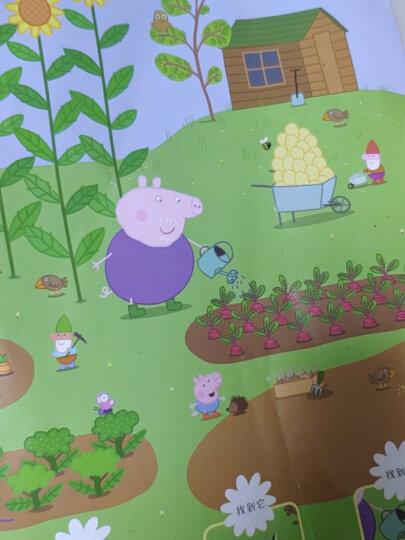 欢乐夏日/小猪佩奇趣味贴纸游戏书 晒单图