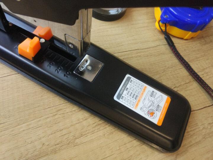 得力(deli)黑色粗头物流油性记号笔大头笔 签名笔马克笔10支/盒6821 晒单图