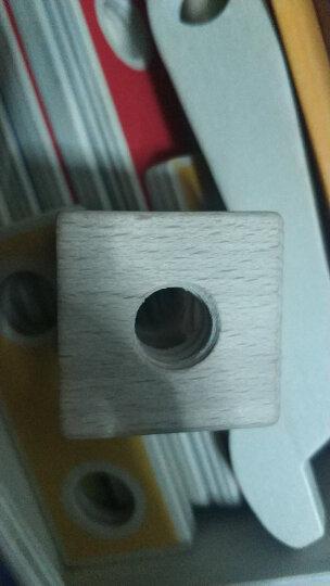 德国(Hape)我的工具盒拆装拼装积木玩具早教启蒙过家家益智玩具 3岁+ E3001 百变拼搭男孩女孩生日礼物 晒单图