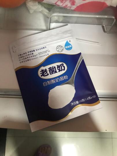 佰生优(益生菌型)升级8菌  酸奶发酵菌粉 乳酸菌酸奶粉 家用酸奶发酵剂10g 新老包装随机发货 晒单图