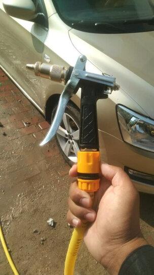 御美车高压洗车水枪家用洗车器高压水枪头套装汽车用品洗车工具 金属水枪+20米软管套装 晒单图