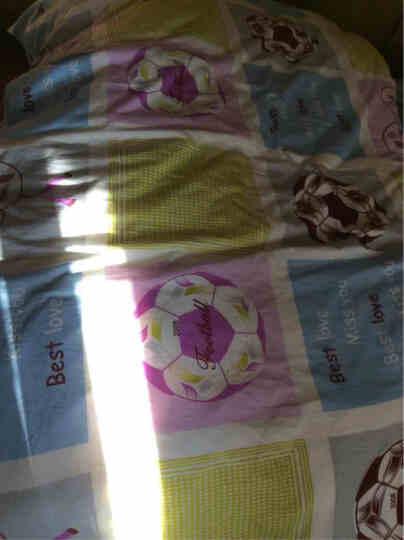宫品 羽绒被子冬 白鹅绒被芯 80s贡缎面料手工扭花工艺冬被 扭花面包款-紫色 220cm*240cm 晒单图