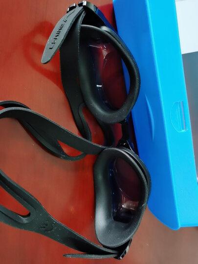 李宁LI-NING 近视泳镜 男女防水防雾高清游泳镜 正品游泳眼镜 LSJK668黑 300度 晒单图