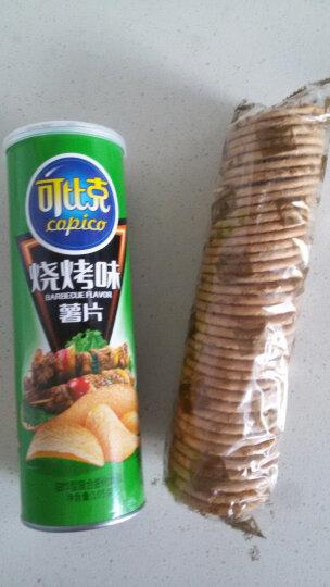 可比克 烧烤味 薯片 办公室休闲膨化零食 105g 新旧包装随机发放 晒单图