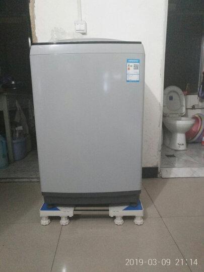 贝石(beishi)加固移动洗衣机底座架通用托架冰箱底座架 海尔美的小天鹅三星海信增高防潮(2调节+2刹车) 晒单图