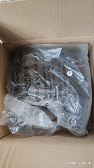 莱尔 食品专用靴厨房卫生靴男女款水鞋高筒耐酸耐碱防滑耐油雨鞋 黑色 39*1双 晒单图