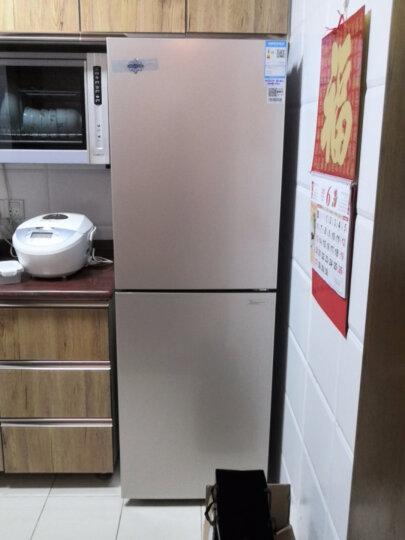格力(GREE)晶弘226升风冷无霜净味小型双门冰箱 宿舍租房小巧不占地 BCD-226WECL/现代金 晒单图