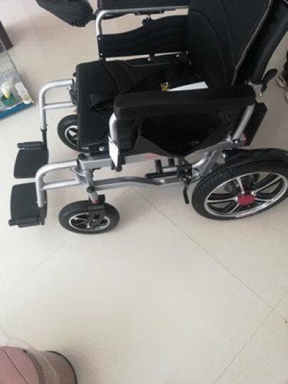 奔瑞(BENRUI) 奔瑞电动轮椅车可折叠轻便全躺老年残疾人自动智能四轮车 【低靠背】四轮减震-12A铅酸【15-18公里】 晒单图
