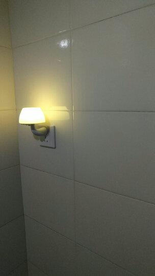 银之优品节能插电感应灯床头灯宝宝灯遥控/光控/声控LED小夜灯蘑菇灯北京发货 黄光(声光控)非遥控 晒单图