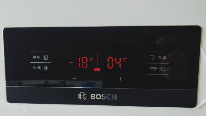 博世(BOSCH) BCD-610W(KAN92V02TI)+XQG80-WDG244601W 白色欢乐家族冰箱洗衣机套装 晒单图