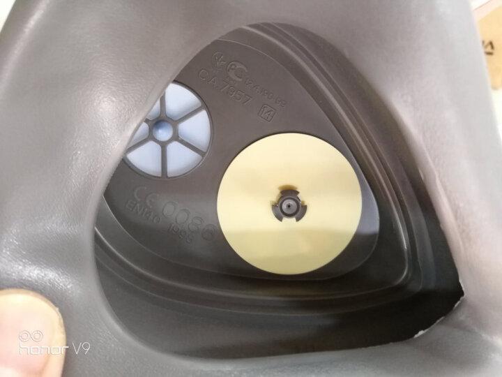 3M 防尘口罩 3200防毒口罩 防毒面具 防化工气体 喷漆 农药 甲醛 防工业粉尘面罩 主体-3200半面罩(1只) 晒单图