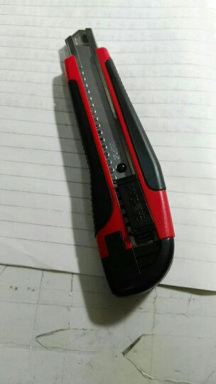 晨光(M&G)银色18mm大号自动锁金属美工刀裁纸刀 单把装ASS91360 晒单图