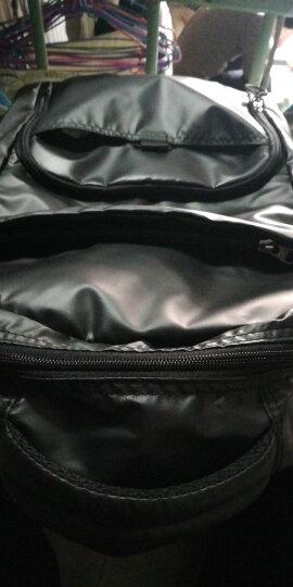 七匹狼双肩包背包电脑包男女14/15.6英寸笔记本休闲运动商务韩版潮流书包 黑色L92434021A-01C 晒单图