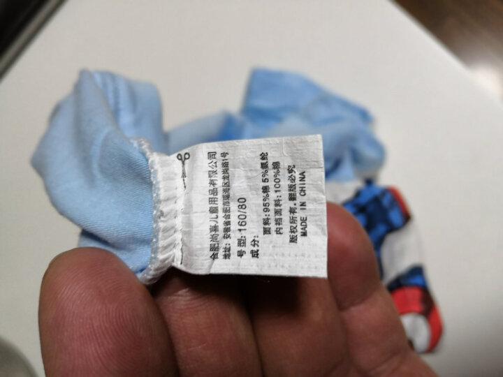 迪士尼marvel漫威儿童内裤宝宝小孩中大童男童平角四角三角短裤 90025混色 110cm参考身高100-110 晒单图