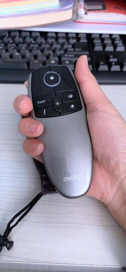 得力(deli)2806 可充电空中飞鼠激光笔/PPT翻页笔/电子教鞭 4GB接收U盘 红光 晒单图