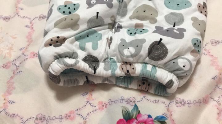【夹棉保暖】南极人婴儿棉服套装宝宝南极棉夹棉保暖衣服秋冬新款 肩扣-蘑菇小兔浅粉 110CM 晒单图