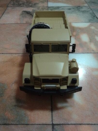 美致模型(MZ) 遥控车 大脚攀爬车48cm 车身超大号礼盒高速四驱越野赛车 汽车模型儿童男孩玩具 宝石蓝 晒单图