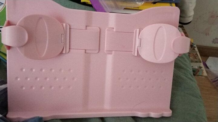 猫太子 健康视力阅读架读书架夹书神器成人学生看书架伸缩手机平板电脑支架 坐姿矫正器阅读器学生文具 单手翻书-便携-典雅白 晒单图