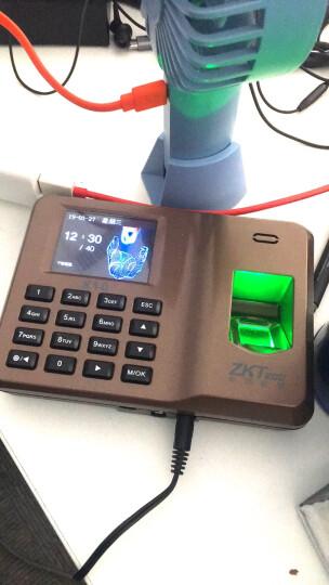 中控智慧(ZKTeco)iFace302 人脸指纹识别考勤机 触屏智能签到打卡机 晒单图