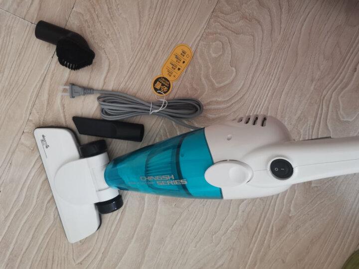 德尔玛(Deerma)DX128C 吸尘器家用手持立式二合一吸尘器强劲吸力  吸螨虫宠物毛发 晒单图