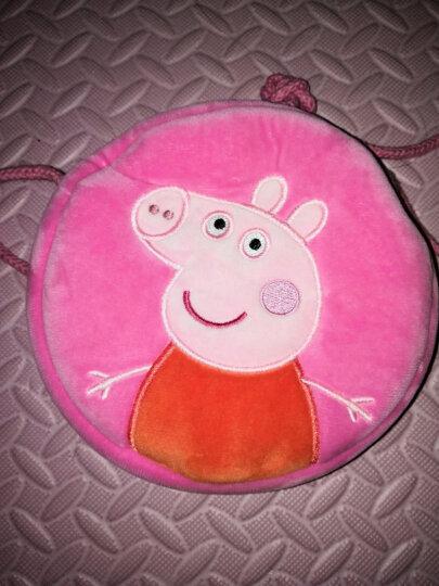 小猪佩奇Peppa Pig 抖音同款社会人小猪佩奇零钱包卡通动漫玩具佩佩猪斜跨式包包儿童礼物 佩奇圆形零钱包 晒单图