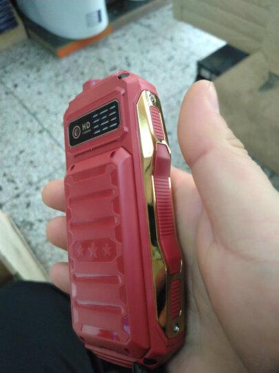 誉品(YEPEN) YP99 电霸 移动/联通 双卡双待 老人手机 老年机 红 晒单图