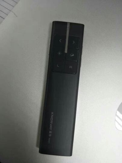 诺为(KNORVAY)N99C 重力鼠标翻页笔 激光笔翻页器 电子笔 空中飞鼠 黑色 晒单图