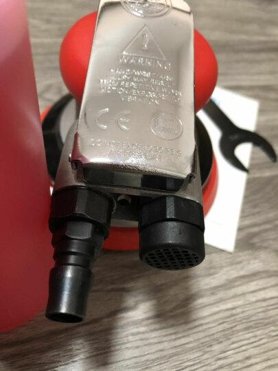 5寸圆盘气动打磨机煜祥RUSA  5寸自吸尘砂纸机研磨机抛光机干磨机磨灰机打蜡机工业级 033-5寸全钢工业级强劲款套餐一 晒单图