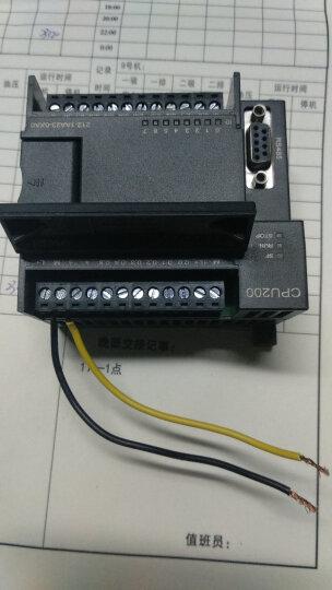 国产兼容 西门子PLC S7-200PLC CPU222自带8DI/6DO 可编程控制器 晶体管型  212-1AA23 晒单图