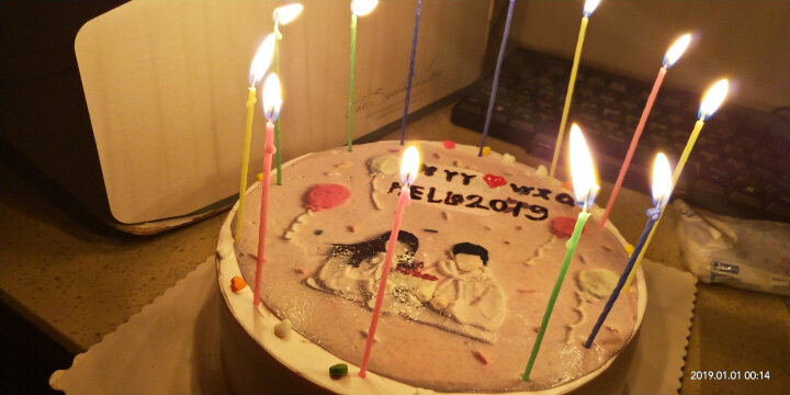生日蛋糕同城配送创意情侣定制儿童蛋糕北京上海深圳全国速递 股票天天涨 20寸 晒单图