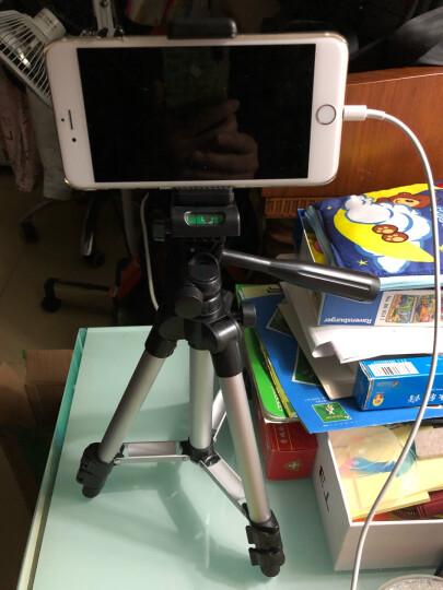 多宝莱 手机夹三脚架手机直播支架三角架单反户外数码相机便携自拍 加长版1.3米+手机摄影自拍器 晒单图
