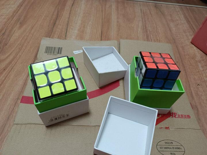 圣手方圆魔方玩具三阶3阶速拧竞速魔方礼盒装比赛专用送教程 黑色礼物 晒单图
