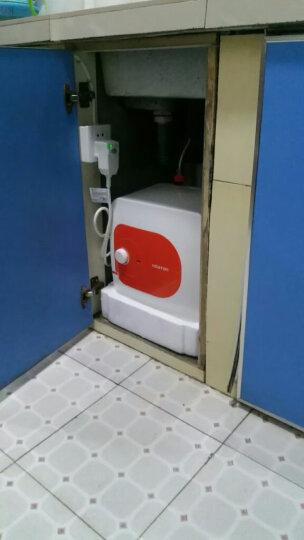 阿诗丹顿(USATON)小厨宝6.6升/10升上出水下出水储水式即热式电热水器厨宝厨房小型热水器家用 10升上出水-带防漏电保护插头-实体同款 晒单图