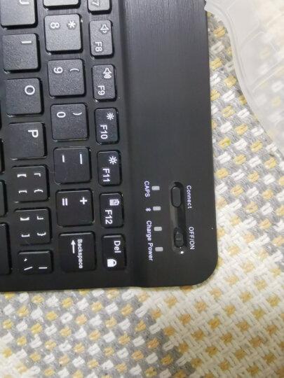 航世(B.O.W)HB030-Y键盘 无线蓝牙键盘 办公键盘 超薄便携 78键 手机平板ipad键盘 巧克力按键静音 金色 晒单图