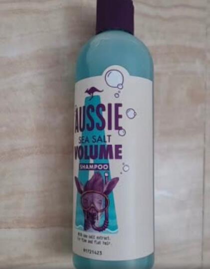 澳丝Aussie袋鼠全新海盐小蓝瓶洗发水300ml  无硅油 晒单图