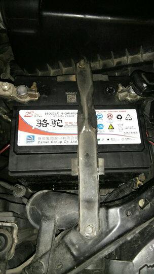 骆驼电瓶12V60AH比亚迪F3G3L3伊兰特卡罗拉悦动汽车蓄电池55D23L B 以旧换新-北京地区上门安装 长城-哈弗H6 晒单图