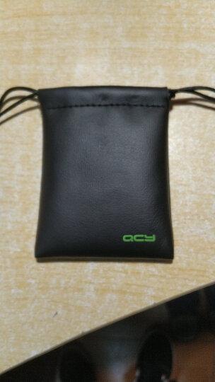 QCY 耳机收纳袋标准版 耳机收纳保护套 PU皮质 数码配件包 晒单图