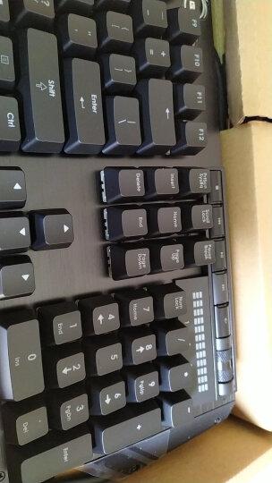 芝奇(G.SKILL)KM780 机械键盘 有线 游戏键盘 122键RGB幻彩铝合金键盘 吃鸡键盘 笔记本 黑色 樱桃红轴 自营 晒单图