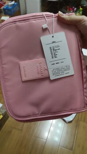 意酷出差洗漱包男女士化妆包收纳包手提大容量便携旅行套装 粉色 晒单图