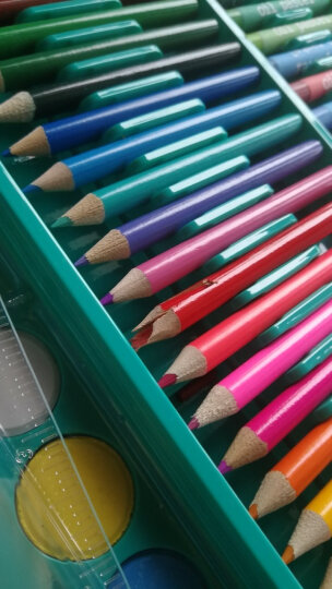 铭塔儿童绘画150件套装文具 画画板工具笔蜡笔水彩笔颜料美术铅笔 学生学习用品生日礼盒装六一儿童节礼物 晒单图