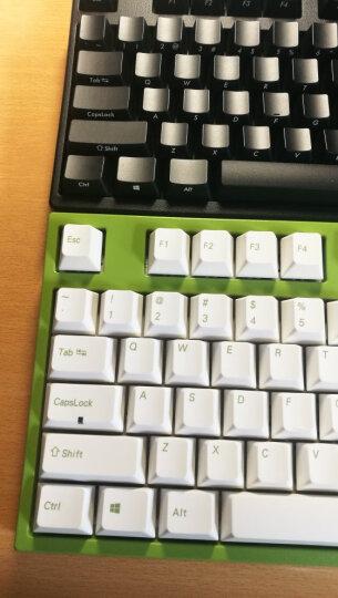 利奥博德 Leopold FC750R PD二色成型键帽 樱桃轴87键机械键盘(游戏键盘 高抗打油) 赤色红字 红轴 晒单图