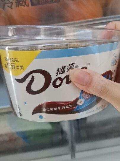 德芙(Dove)香浓黑巧克力碗装婚庆休闲零食糖果办公室252g(新旧包装随机发放) 晒单图