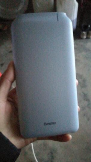 倍斯特(Besiter)10000毫安 移动电源/充电宝 超薄聚合物电芯智能 个性化 送礼表白必备 定制版 0153Q 蓝色 晒单图