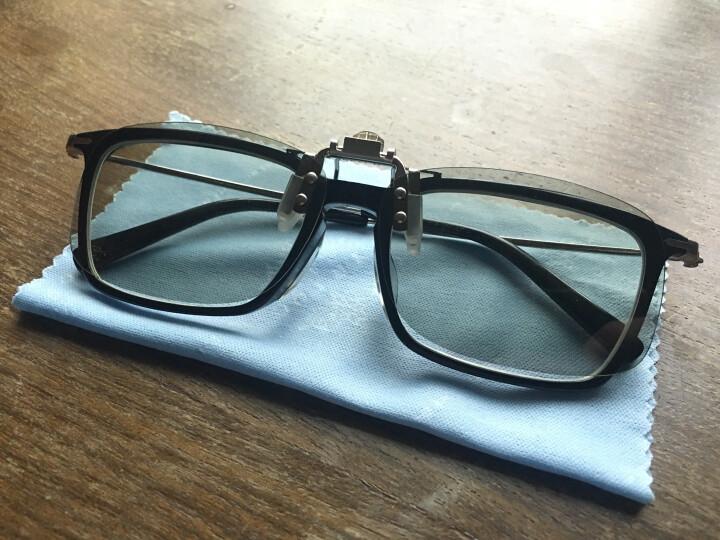 锐盾3d眼镜电影院专用imax Reald电视偏光偏振立体三d通用近视夹片眼睛 升级版金属夹REALD【1副】 晒单图